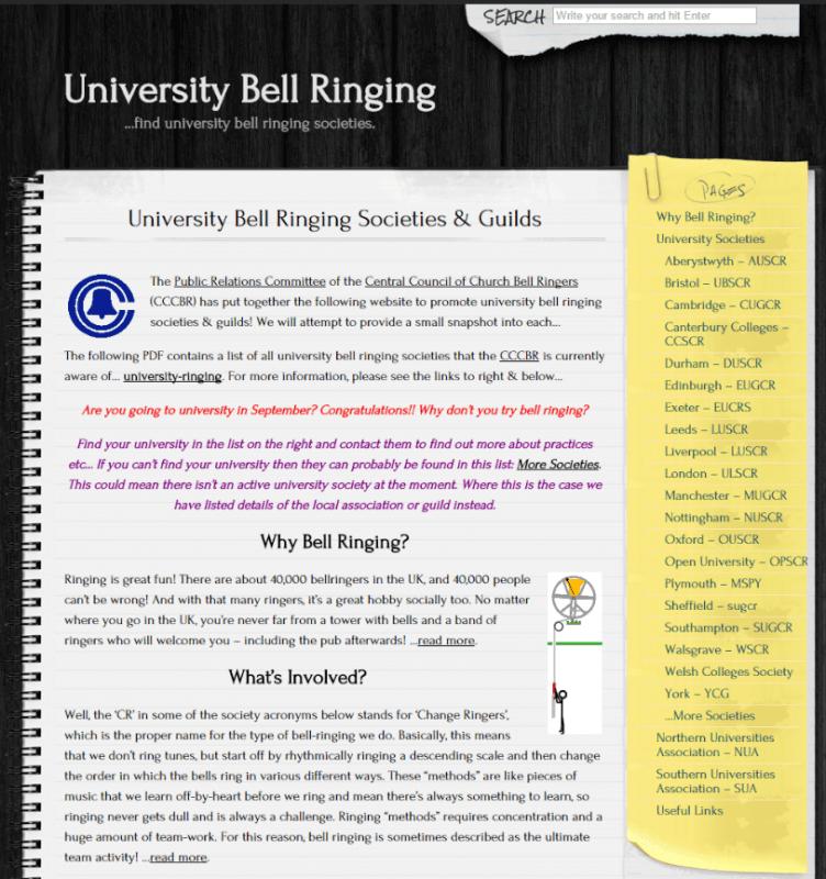 universityRinging